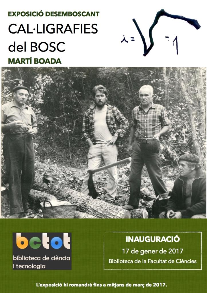 cartell-expo-desemboscant-biblioteca-facultat-de-ciencies-uab_gener-2017